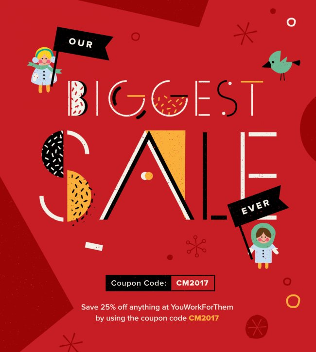 Our Biggest Sale Ever, Starts Now!