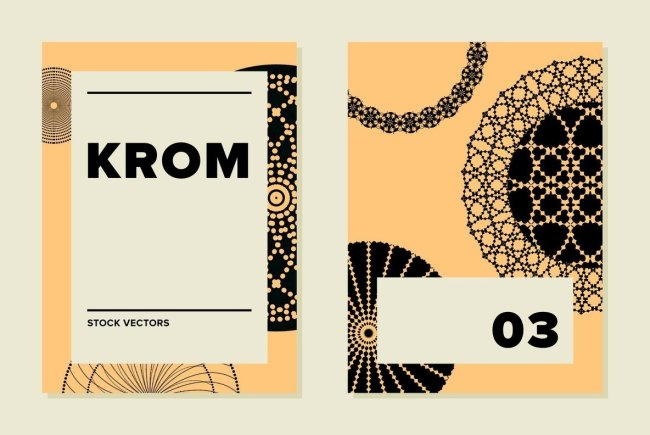 Krom 03 From Sigma: A Celebration Of Radial Vectors