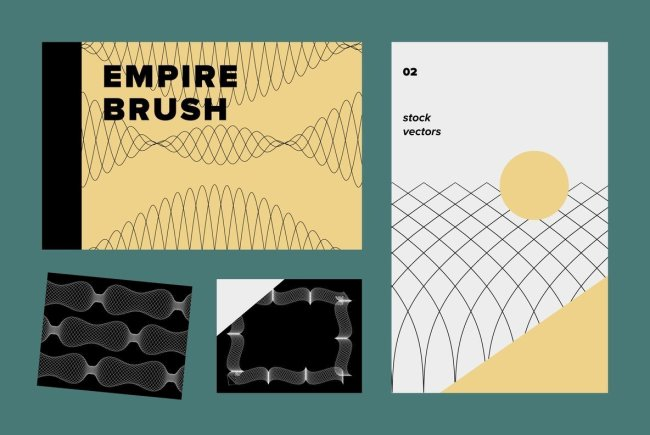 Craft Intricate Design Flourishes With Empire Brush 02 Vectors From Sigma