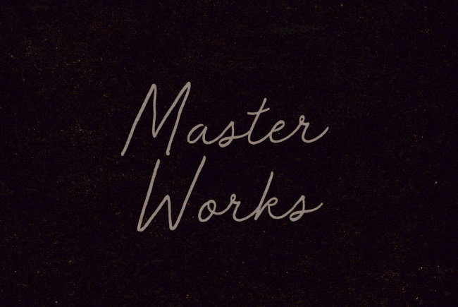 "A Wise ""Old"" Cursive Script From BLKBK: Master Works"