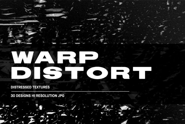 Warp Distort – Distressed Textures Adds Spectral Effects