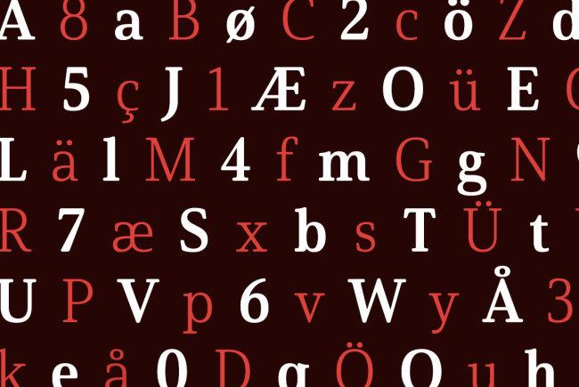 A Softly Elegant Serif From insigne Type Design Studio: Solitas Serif