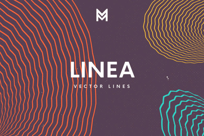Contemporary Vector Line Graphics From Mazarine Studio: Linea