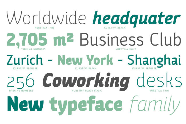 A Highly Adaptable Sans Serif From Michael Parson: Kurstiva
