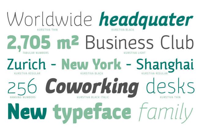 A Highly Adaptable Sans Serif From Michael Parson: Kurstiva