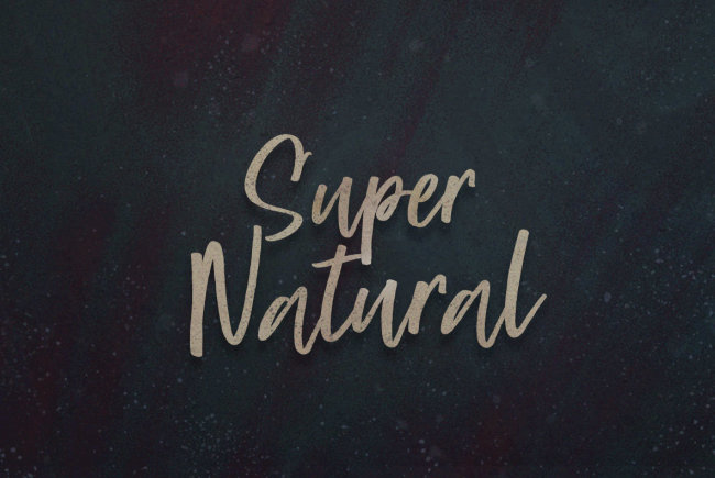 A Super Fresh Script From BLKBK: Super Natural