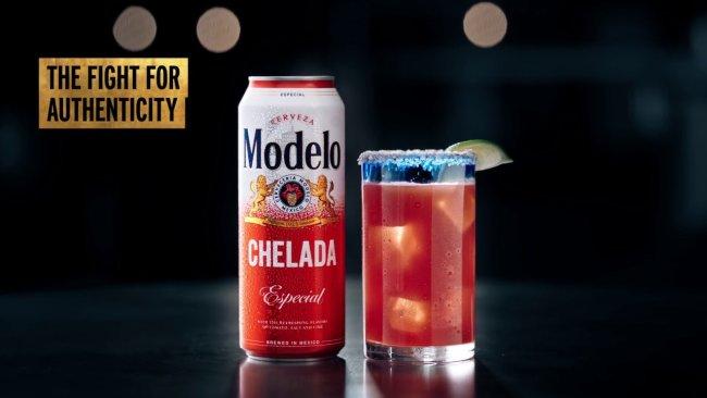 Modelo Beer's Fighting Spirit Meets Its Match In Veneer From Yellow Design Studio