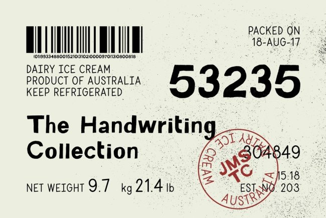 The Handwriting Collection – The Ultimate Bundle Of Organic, Hand Drawn Fonts