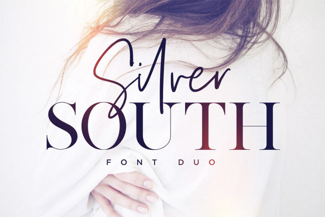 Silver South Pairs An Expressive Script With A Sophisticated Serif
