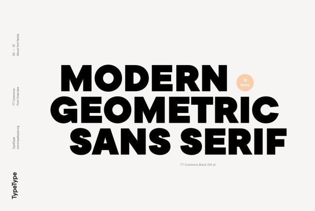 TT Commons: A Sans Serif For Every Day Of The Week
