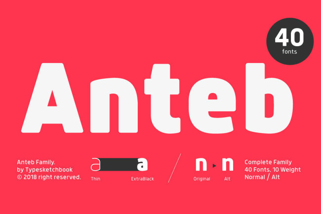 Newsletter Feature: Download 40 New Fonts for $24 + More…