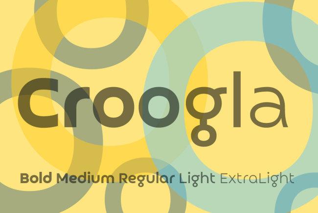 A Fresh Circular Sans From Sergiy Tkachenko: Croogla 4F