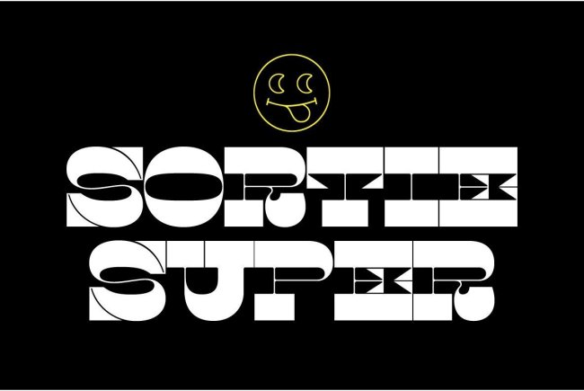 Sortie Super Takes Caslon's Architecture On A Wild Ride