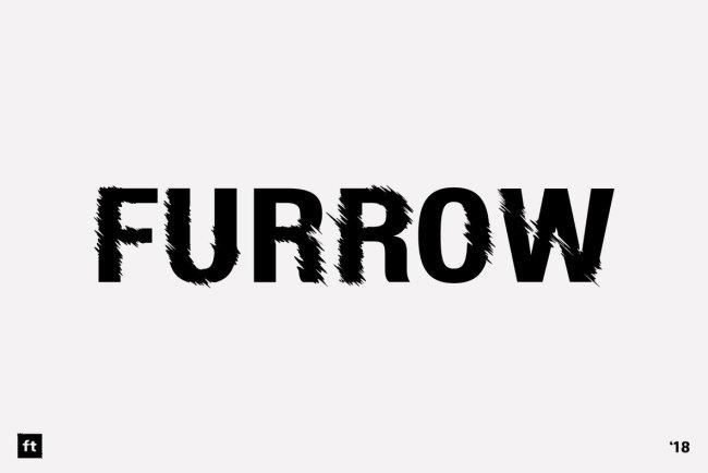 Furrow Brings A Swift Sense Of Motion To A Solid Sans Serif
