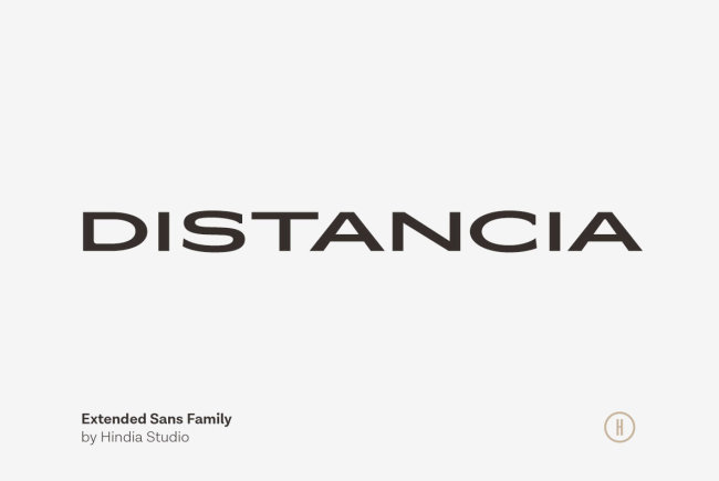 A Sophisticated All-Caps Sans Serif From Hindia Studio: Distancia