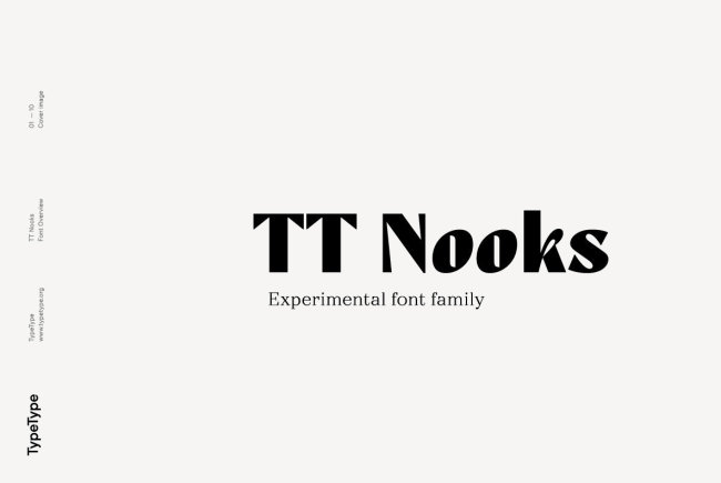 Newsletter Feature: Download an Experimental Serif by TypeType + A Dimensional Sans by Juri Zaech