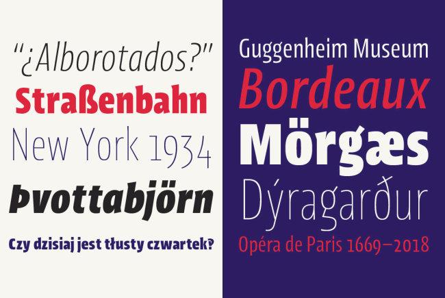 An 'Intriguingly Condensed' Sans Serif: Picador Sans