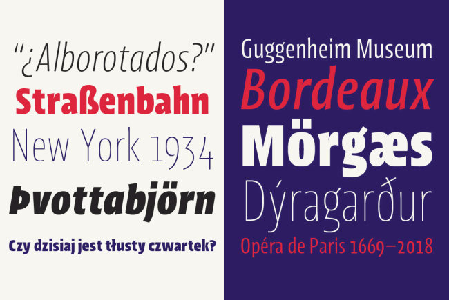 An 'Intriguingly Condensed' Sans Serif: Picador Sans