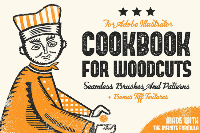 Cookbook for Woodcuts Provides Recipes For Easy-Bake Midcentury Illustration