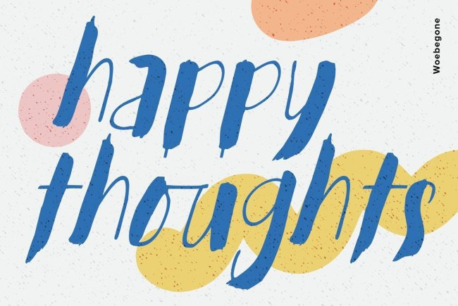 A Playful Brush Script From Hanoded Fonts: Woebegone