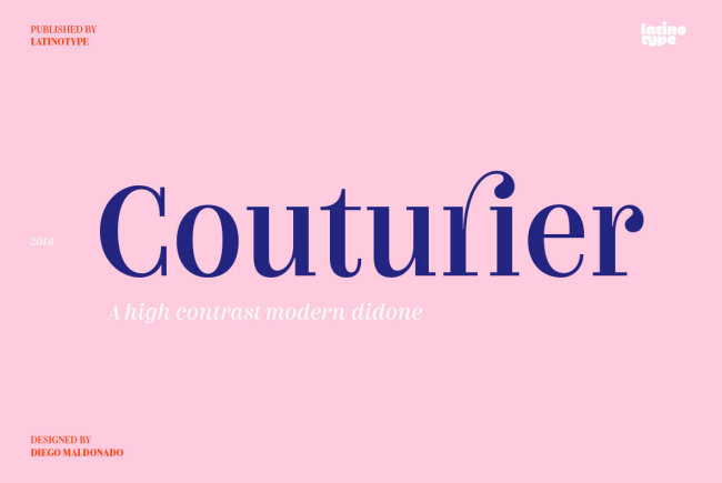 Couturier Provides High Class And High Fashion In Text Form