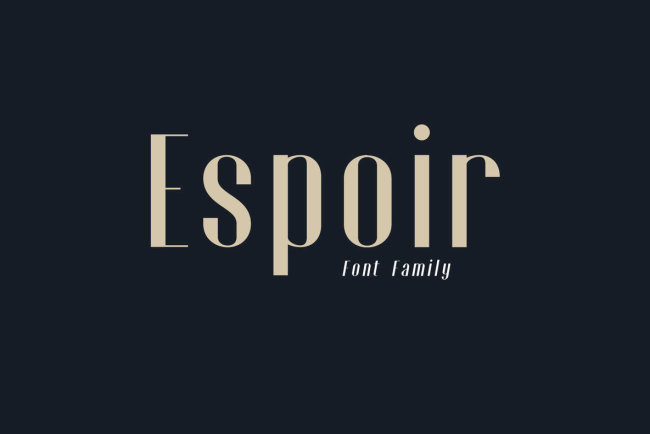 Espoir: Minimalist Elegance From Craft Supply Co.