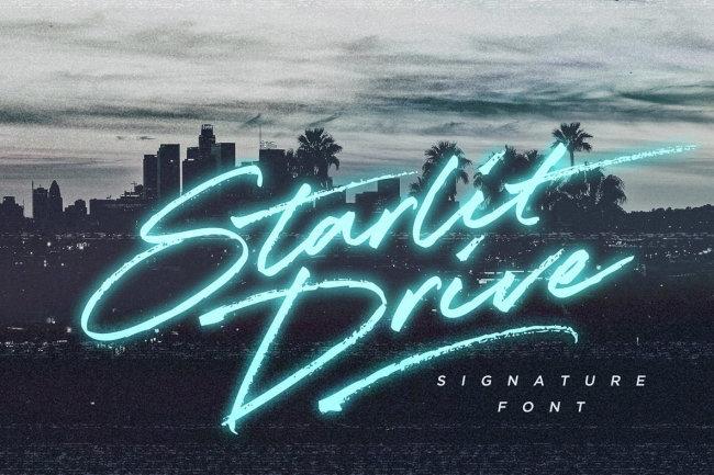 Evoke The Spirit Of Late 20th Century California With Starlit Drive
