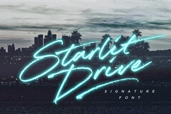 Evoke The Spirit Of Late 20th Century California With Starlit Drive