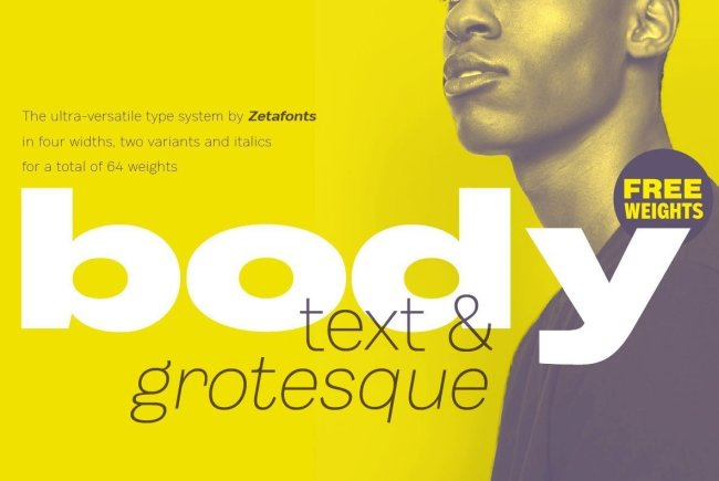 Newsletter Feature: Download 64 New Fonts for $48
