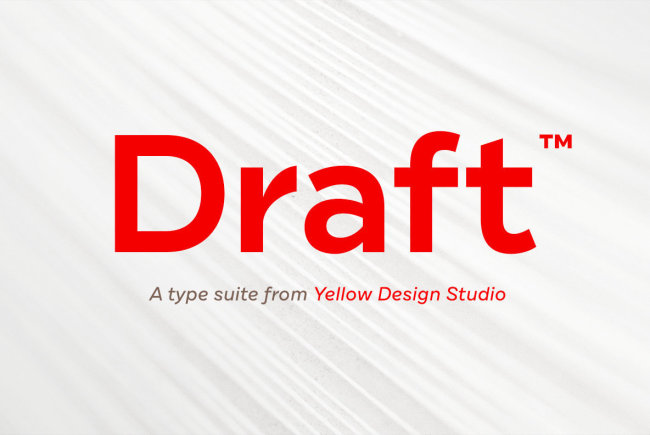 Newsletter Feature: Download 144 New Fonts by Yellow Design Studio for $40!