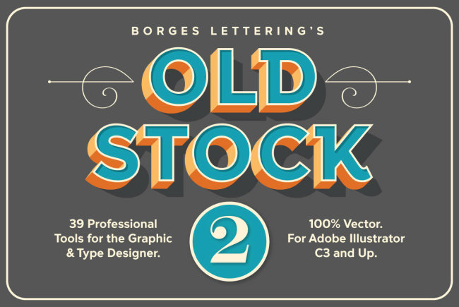 Create Three-Dimensional Effects On Any Font With Old Stock II