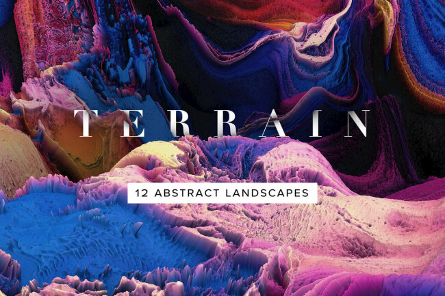 Explore Uncharted Territory with Terrain – Abstract 3D Landscapes