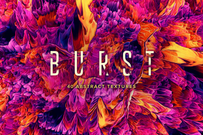 Burst: 40 Abstract Textures Is An Explosion Of Color And Texture