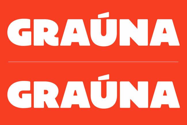 An Extra Bold Sans Serif Inspired by Bloc Heavy: Grauna