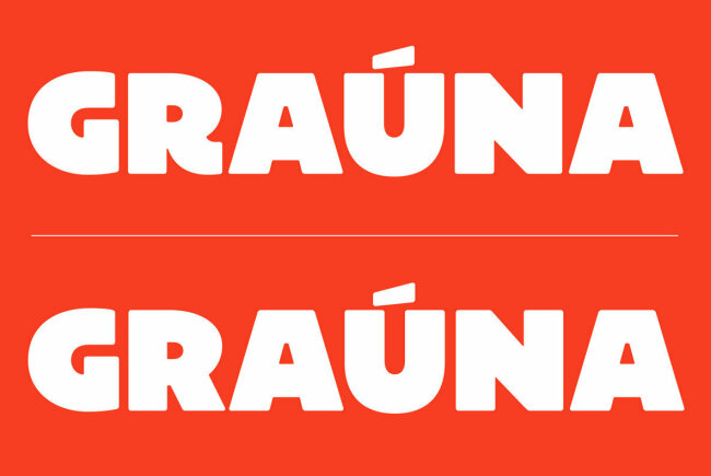 An Extra Bold Sans Serif Inspired by Bloc Heavy: Grauna