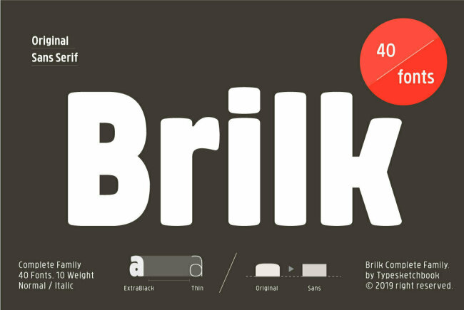 Newsletter Feature: Download 40 Fonts for $24 + New Graphics by YouWorkForThem