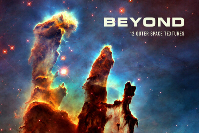 See the Universe in a Brand New Light With Beyond–Stunning Outer Space Textures