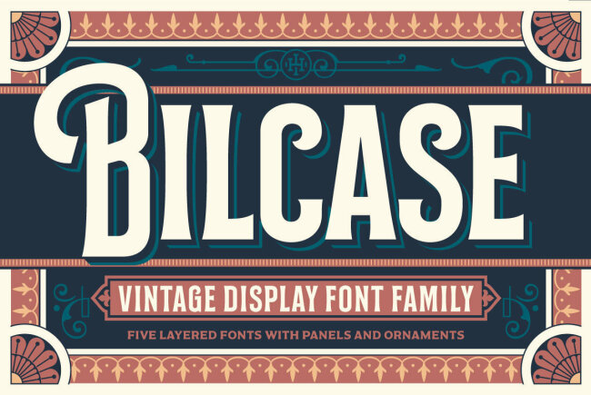 A Layered Type Design With Vintage Flair: Bilcase From Ilham Herry