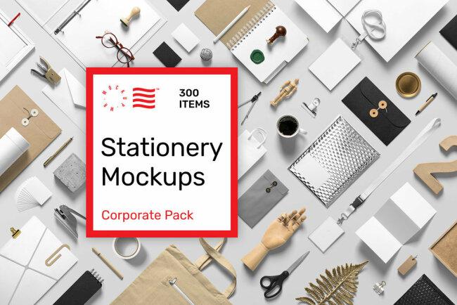 Stationery PSD Mockups Make Professional Client Presentations A Breeze