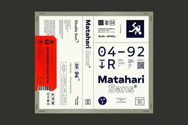 A Sans Superfamily From Cahya Sofyan: Matahari Sans