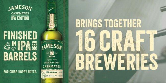 Jameson Caskmates Licenses Veneer Through YouWorkForThem