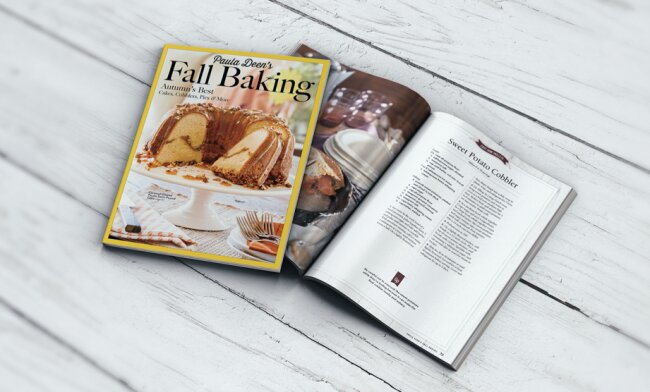 Cooking With Paula Deen Magazine Licenses Fonts From Yellow Design Studio