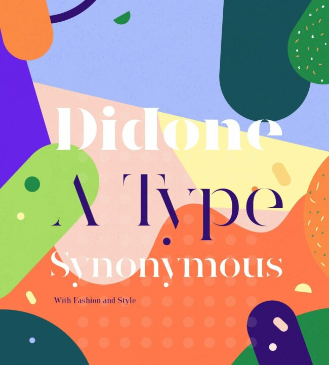 YWFT Type Study: Didone – A Type Synonymous With Fashion and Style