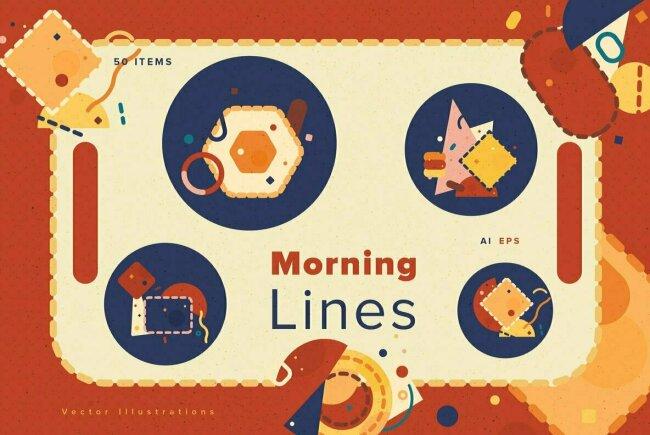 YouWorkForThem Design Studio Gets Crafty With Morning Lines