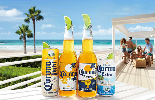 Corona Licenses Thirsty Soft for Limited Edition Lager