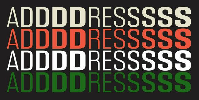 Address Sans Pro Evokes The Spirit of Midcentury European Design