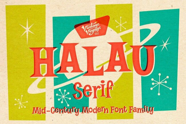 Halau Serif is Like a Day at the Beach, 60s Style!