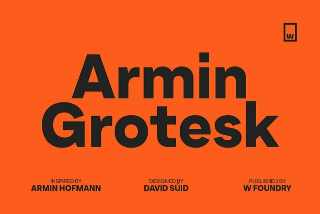 Armin Grotesk Embraces the Swiss Style With Contemporary Flair
