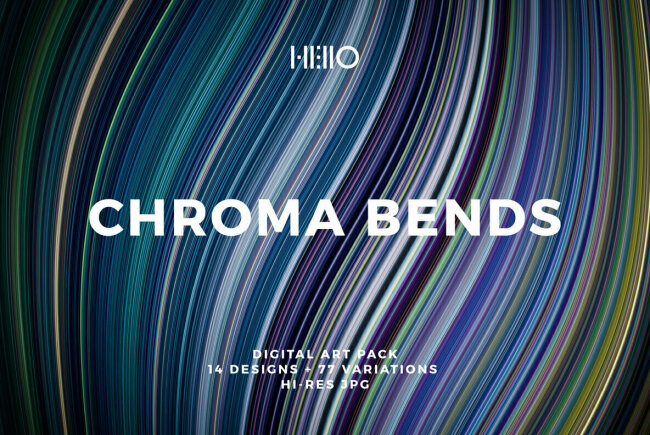 Chroma Bends: Expressing Fluid Motion at Light Speed