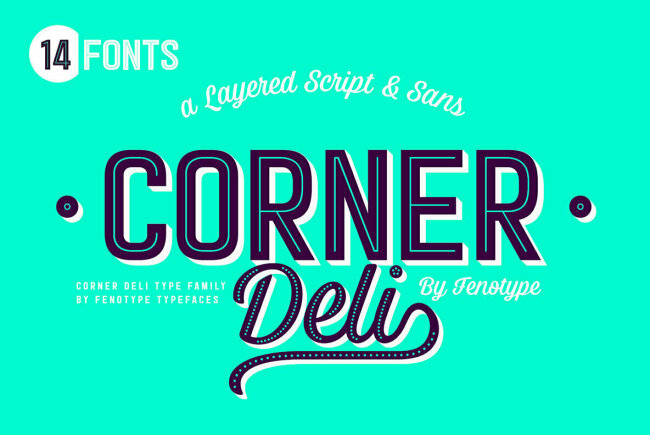 Newsletter Feature: Download 14 Fonts for $18 + Bebas Neue Pro Just Released!